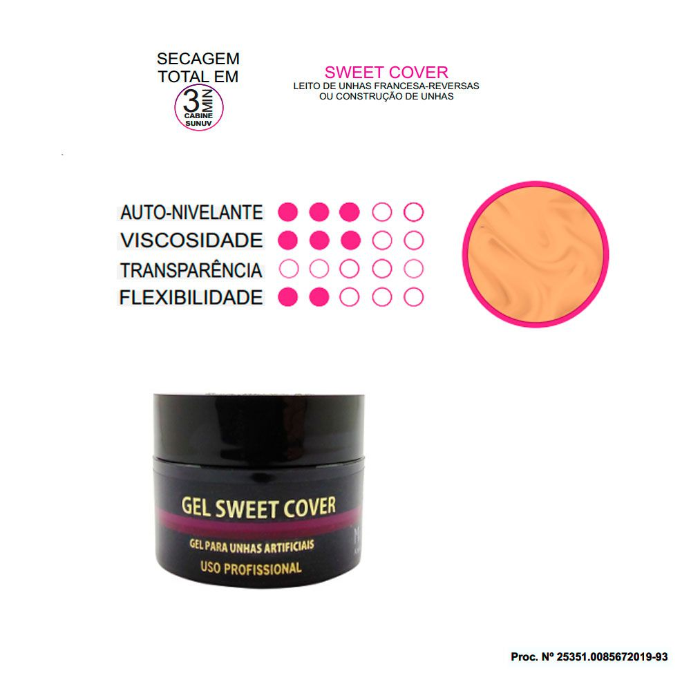 Gel Sweet Cover Muy Biela 15g