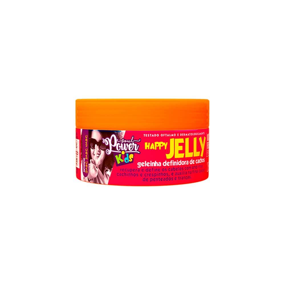 Geleinha Definidora Cachos Soul Power Kids Happy Jelly 250g