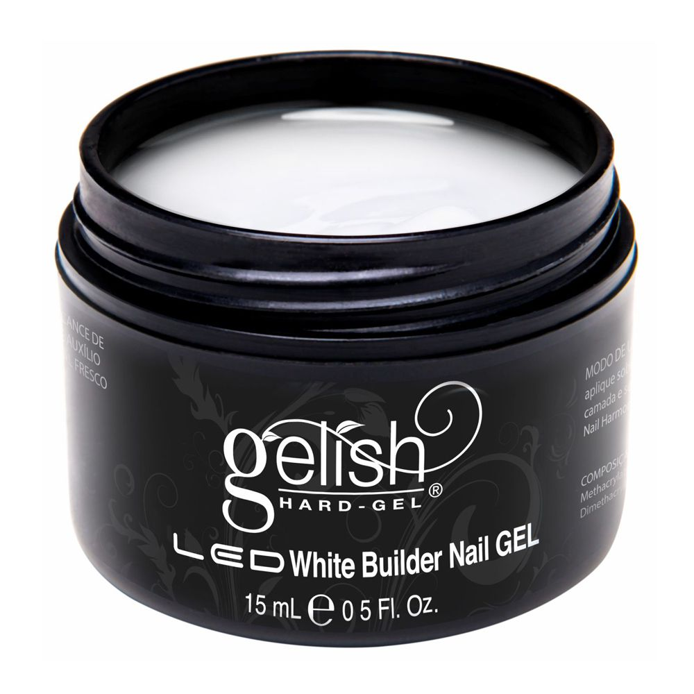 Gelish Hard Gel White Builder Harmony 15ml