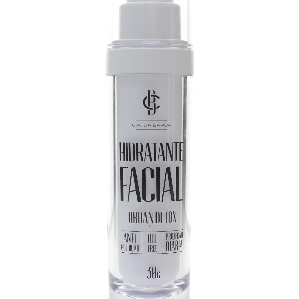 Hidratante Facial Urban Detox Cia Da Barba 30g
