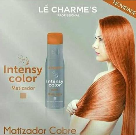 Intensy Color Masc Mat Cobre Lé Charmes 300ml