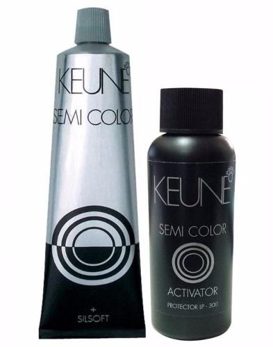 Keune Semi Color Tonalizante Silver + Activator 60 ml