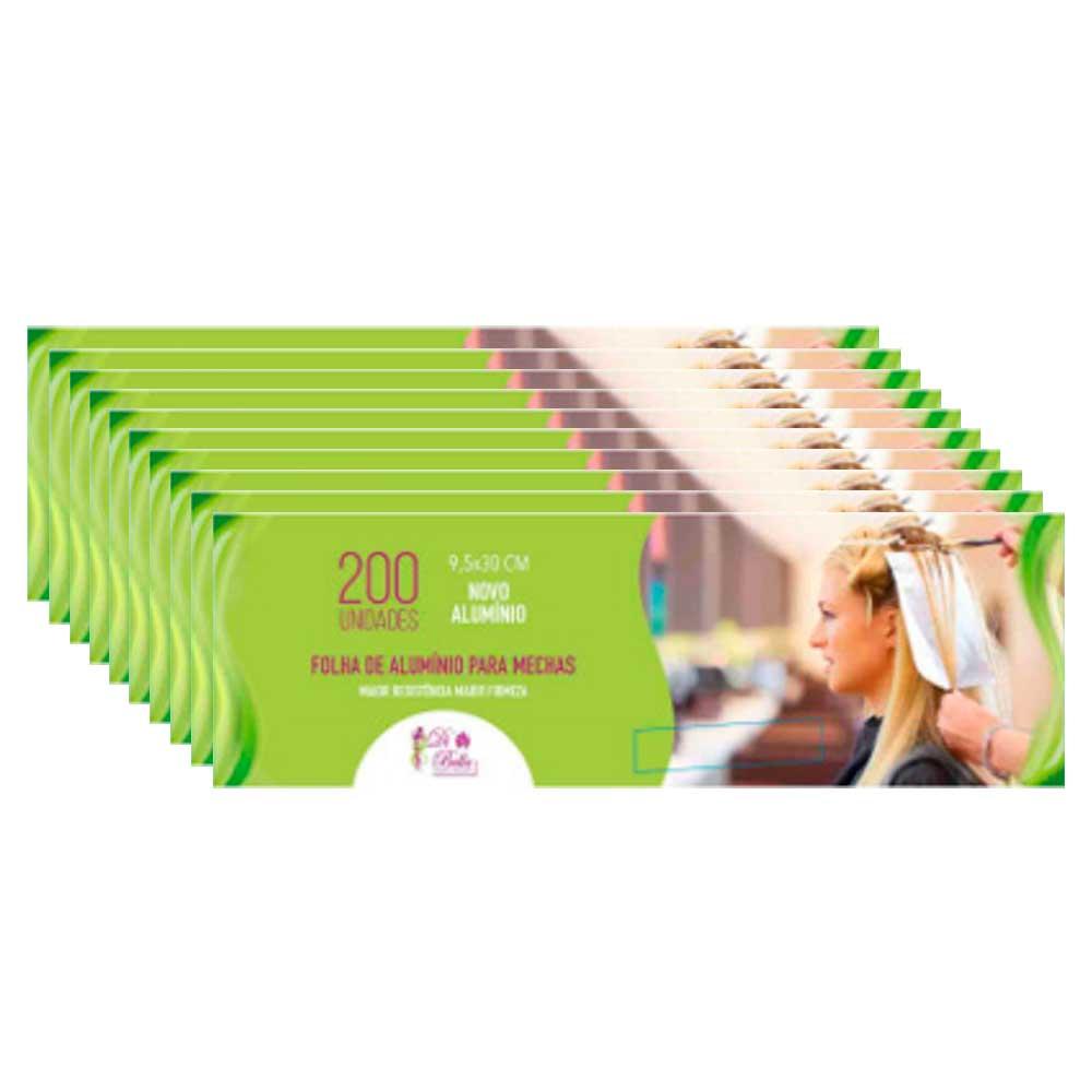 Kit 10 Caixas de Papel Alumínio Di Bella 9,5x30 200 Unidades