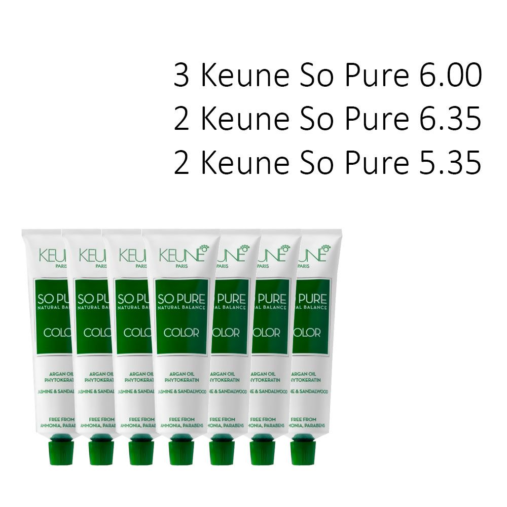 Kit 7 So Pure 60 ml