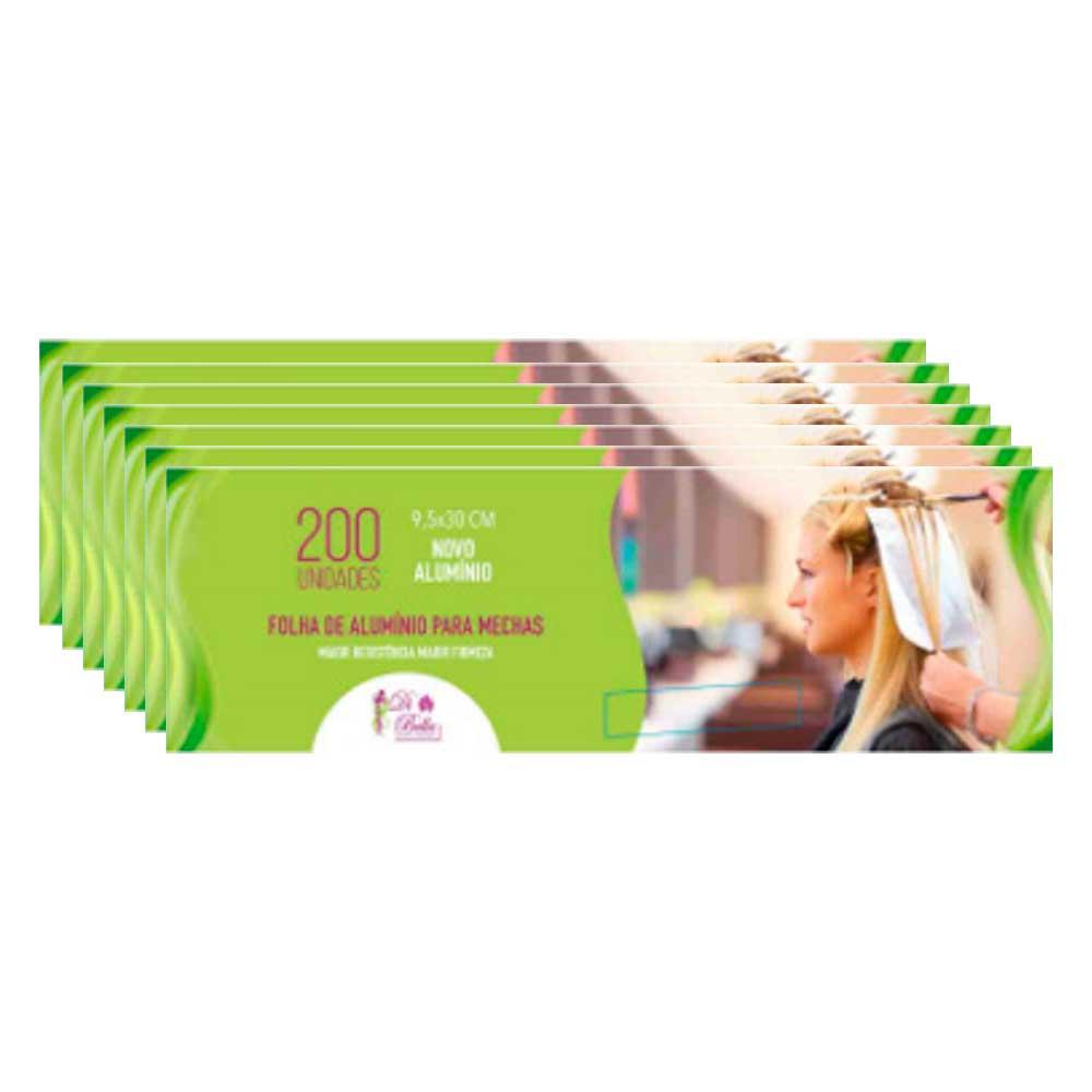 Kit 7 Caixas de Papel Alumínio Di Bella 9,5x30 200 Unidades