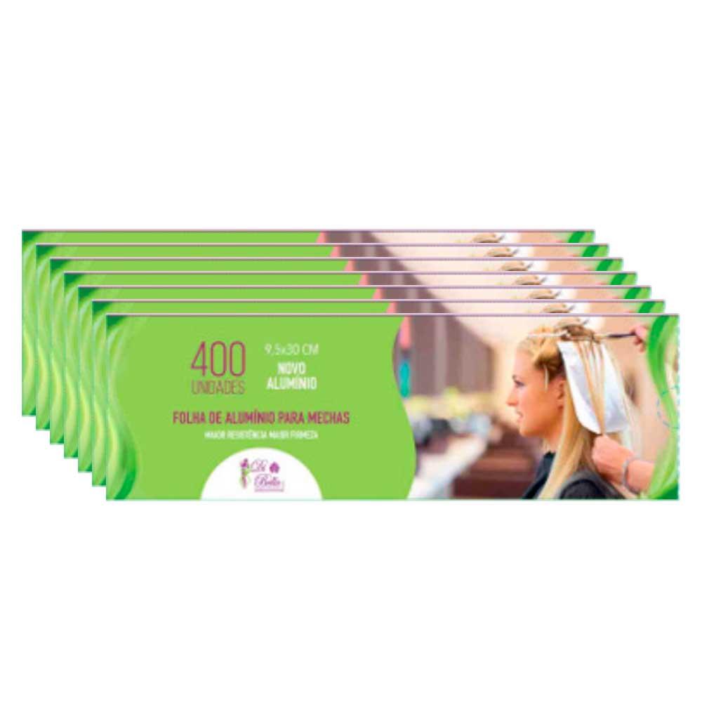 Kit 7 Caixas de Papel Alumínio Di Bella 9,5x30 400 Unidades