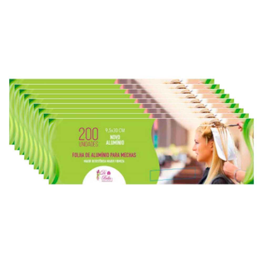 Kit 9 Caixas de Papel Alumínio Di Bella 9,5x30 200 Unidades