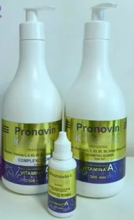 Kit Bomba Pronovin ( Crescimento Dos Cabelos )
