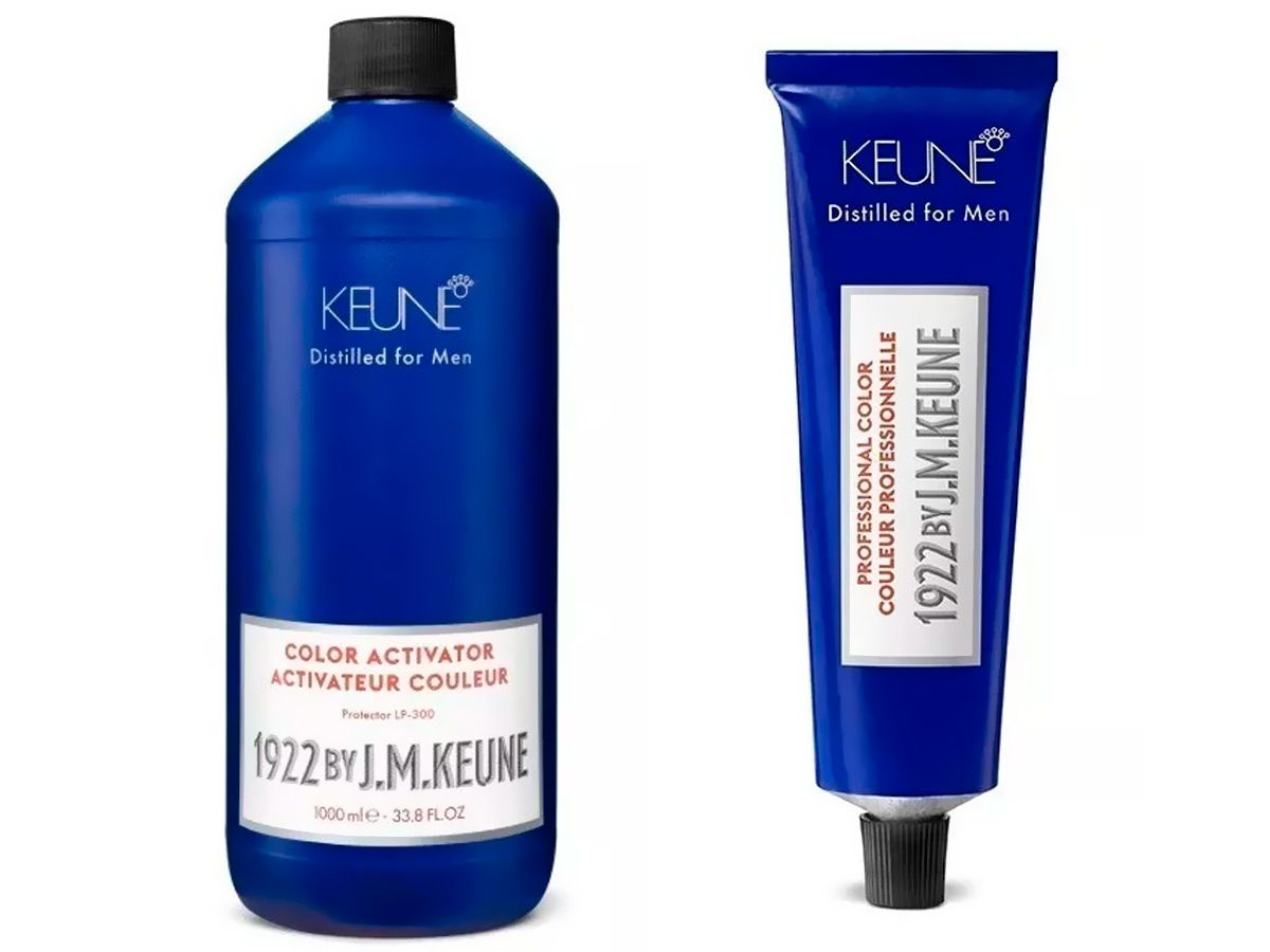 Kit Coloração Keune Color Man 5 1922 + Oxidante 1000ml