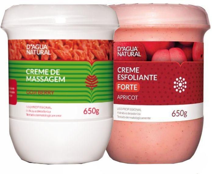 Kit Goji Berry 650g + Esfoliante Forte 650g Dagua Natural