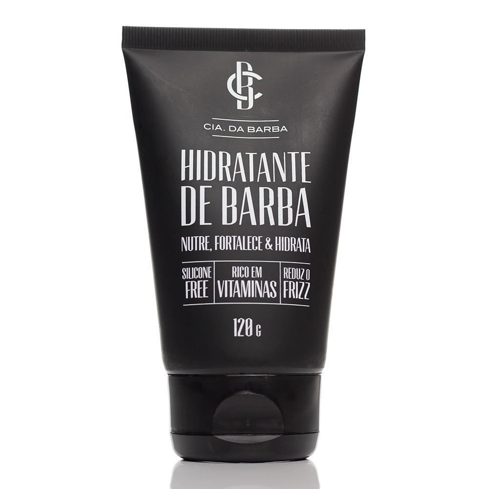Kit Hidratante de Barba e Hidratante Facial Urban Detox Cia Da Barba