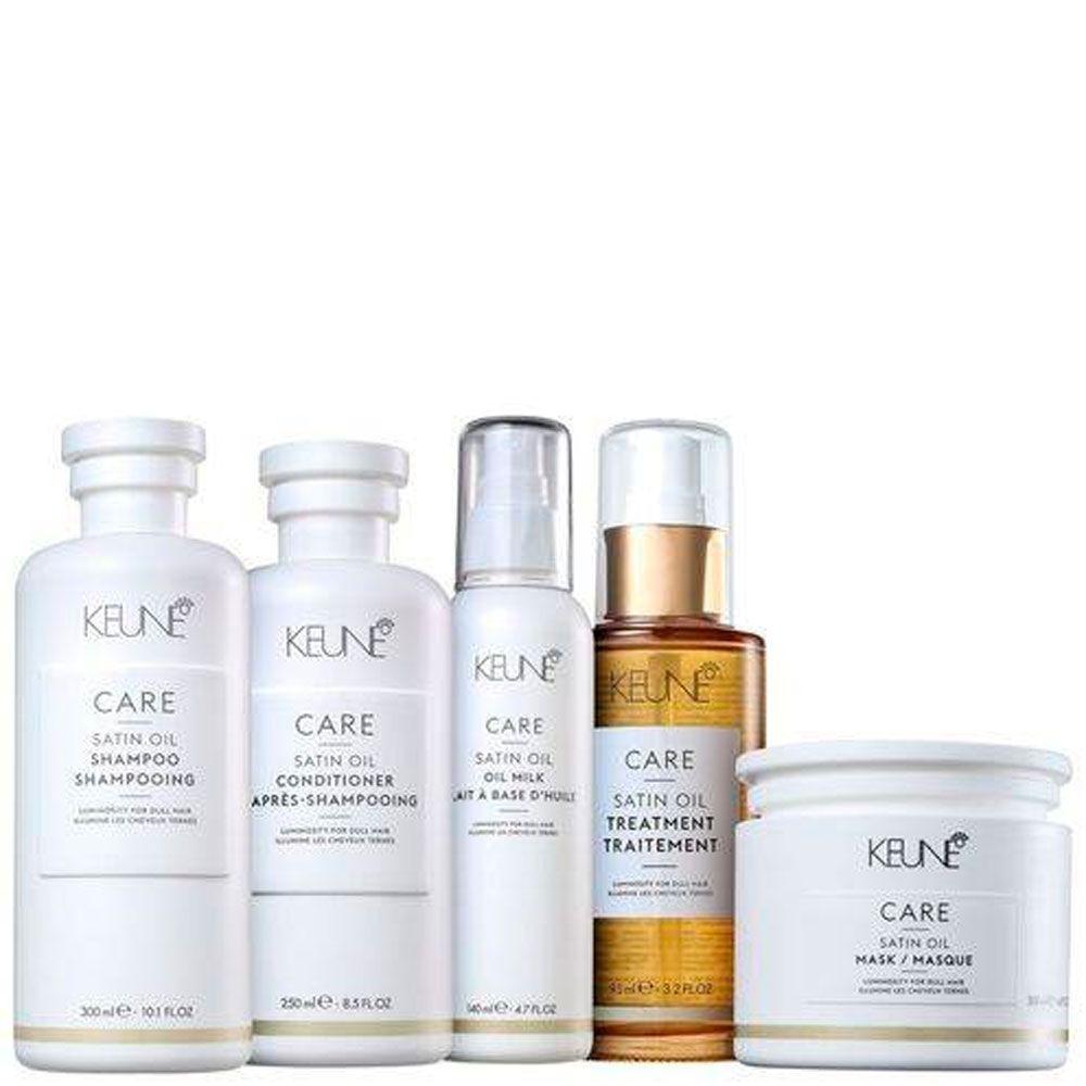 Kit Keune Line Satin Oil