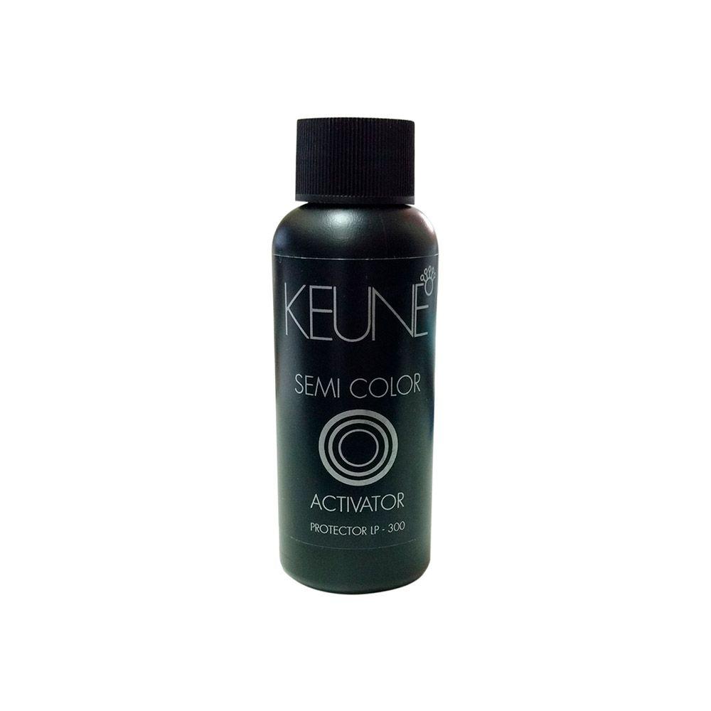 Kit Keune Semi Color 60ml - Cor 10.7 - Louro Extra Claro Violeta + Ativador 60ml