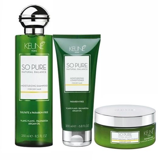 Kit Keune So Pure Tratamento Moisturizing