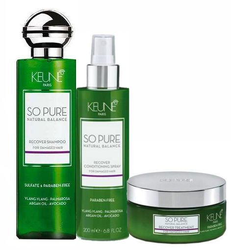 Kit Keune So Pure Tratamento Recover