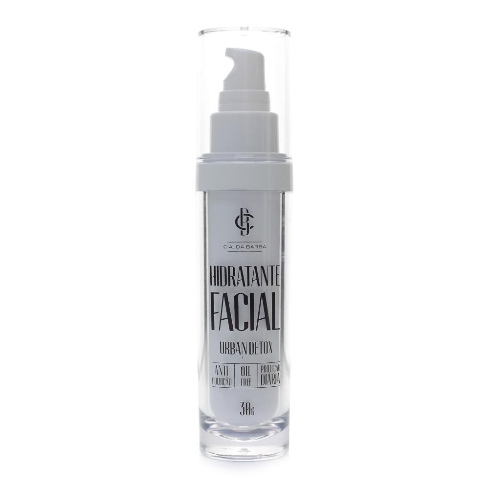 Kit Limpeza Facial Detox e Hidratante Facial Urban Detox Cia Da Barba
