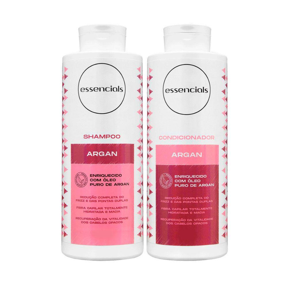 Kit Shampoo e Condicionador Essencials Day By Day Argan