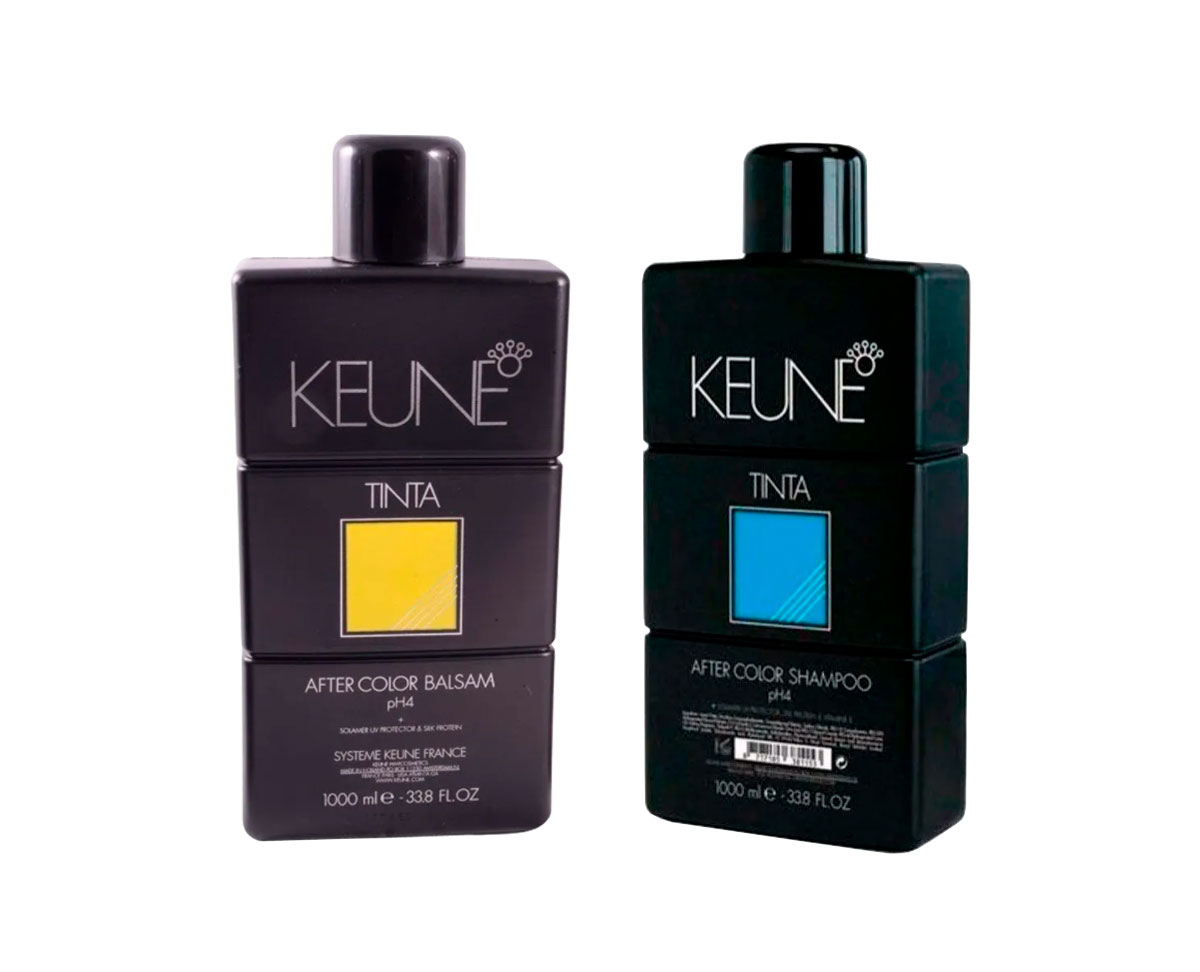 Kit Shampoo Keune After Color 1000ml + Condicionador After Color Balsam 1000ml