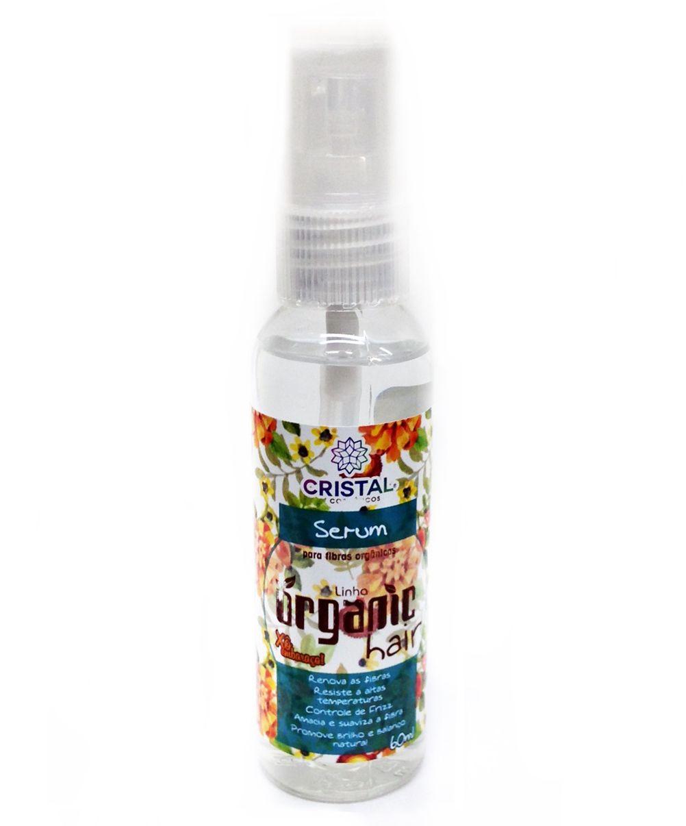 Kit Shampoo Organic Hair 500ml + Creme De Pentear 500ml + Serum 60ml