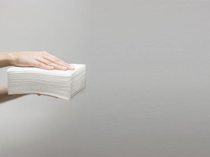 Kit Toalha Descartável Lana  40x50 300un Manicure Pedicure Multiuso