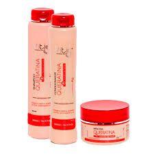 Kit Vitiss Queratina Shampoo 300ml + Condicionador 300ml + Máscara 250g