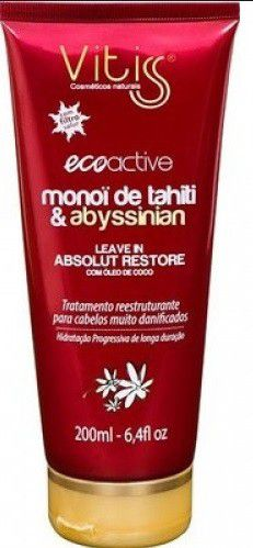 Leave-In Vitiss Ecoactive Monoï Tahiti 200ml