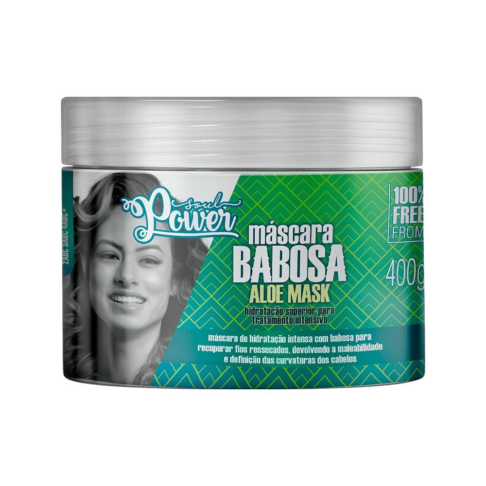 Máscara Capilar Soul Power Babosa Aloe Mask 400g