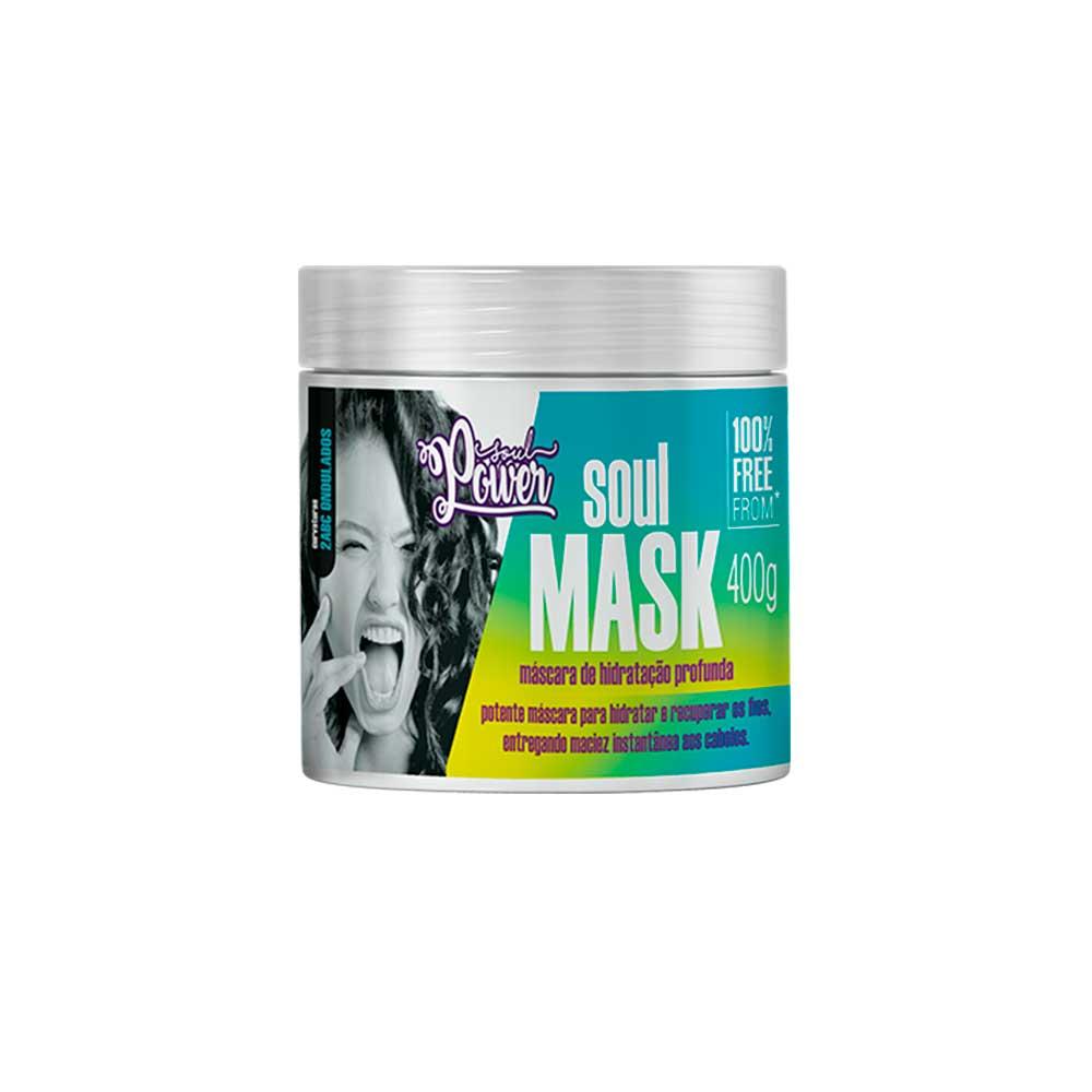 Máscara De Hidratação Profunda Soul Power Soul Mask 400g