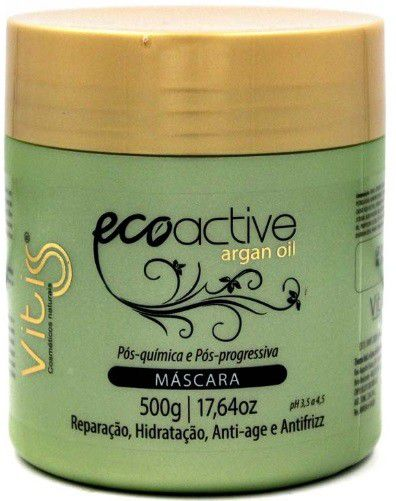 Máscara Vitiss Ecoactive Argan Oil 500g
