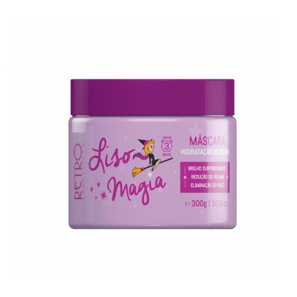 Máscara Hidratação Extrema Liso Magia 300g