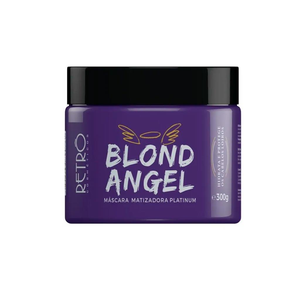 Máscara Matizadora Blond Angel Retrô Cosméticos 300g