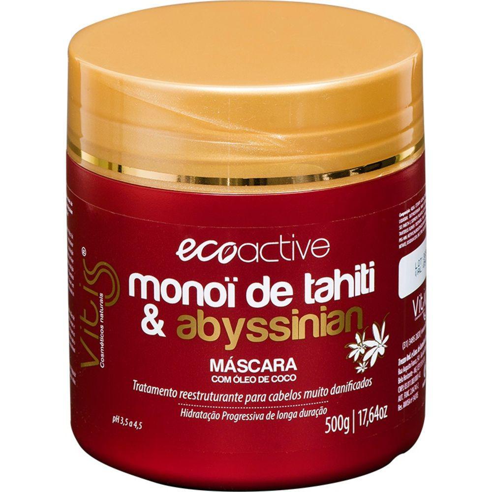 Máscara Vitiss Ecoactive Monoï Tahiti 500g