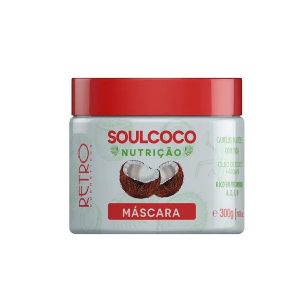 Máscara Nutrição Profunda Soul Coco Retrô Cosméticos 300g