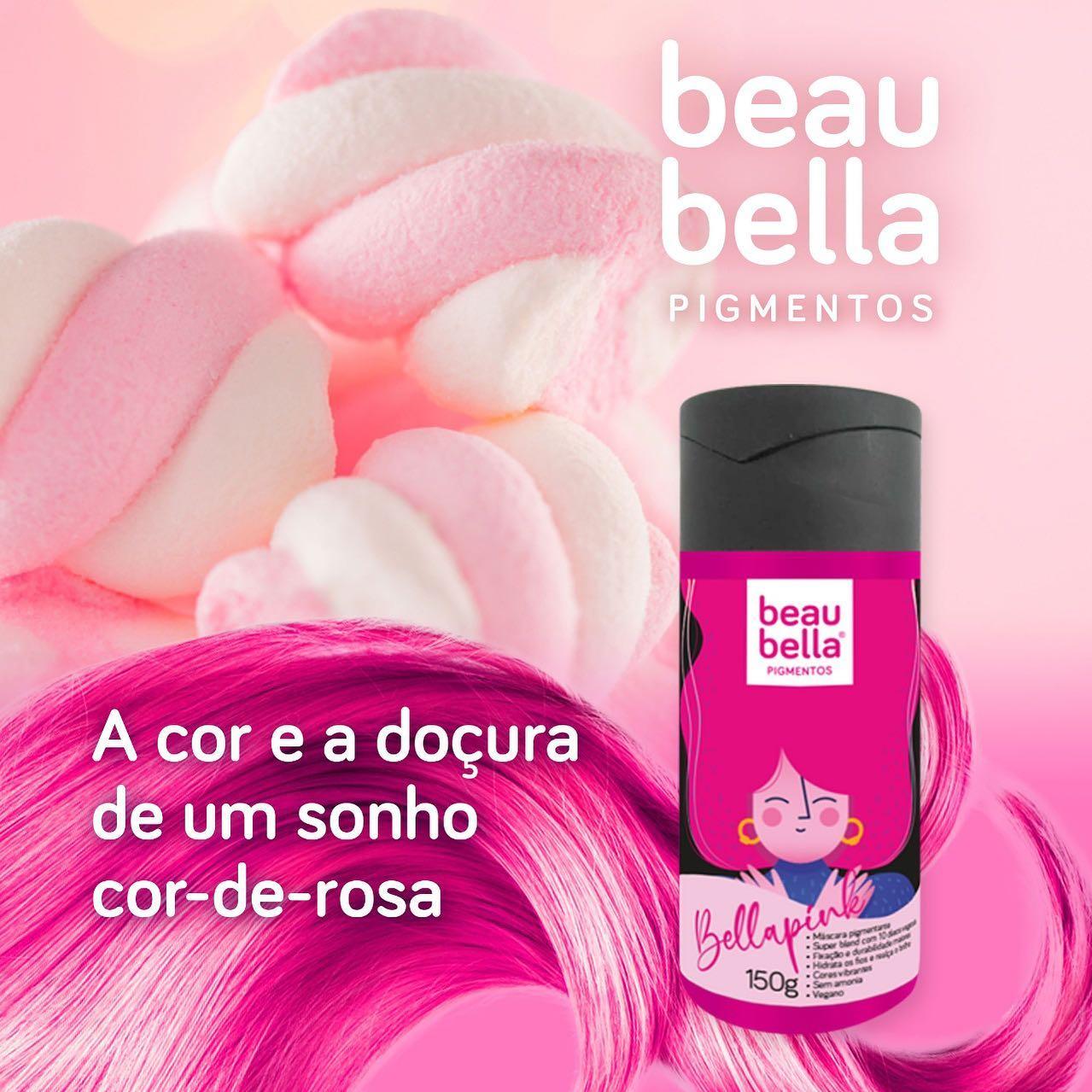 Máscara Pigmentante Beau Bella Bellapink - 150g