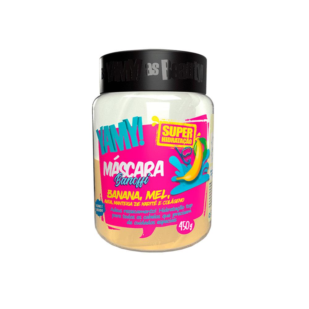 Máscara Yamy Banoffi Super Hidratação Banana 450g
