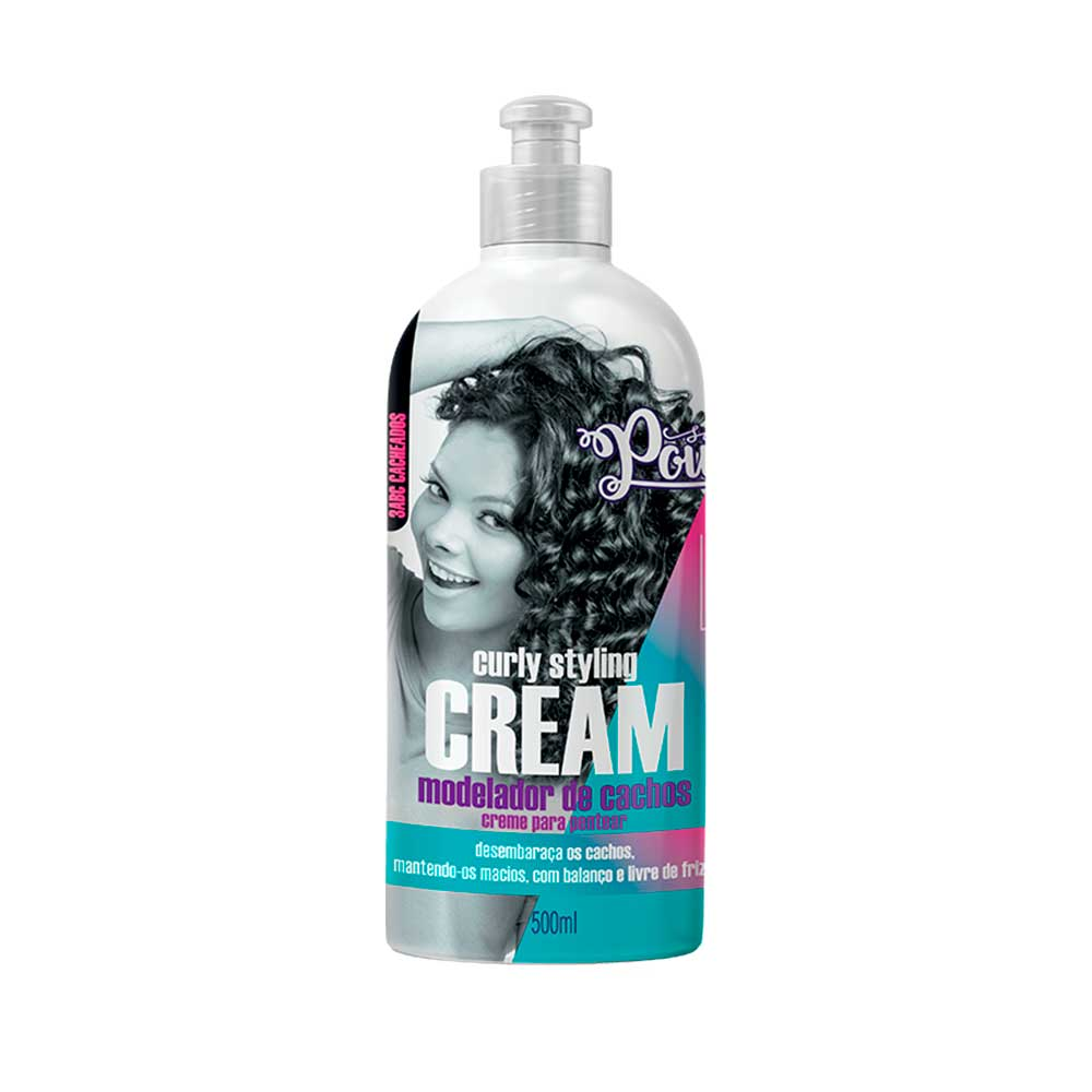 Modelador de cachos Curly Styling Cream Soul Power 500ml