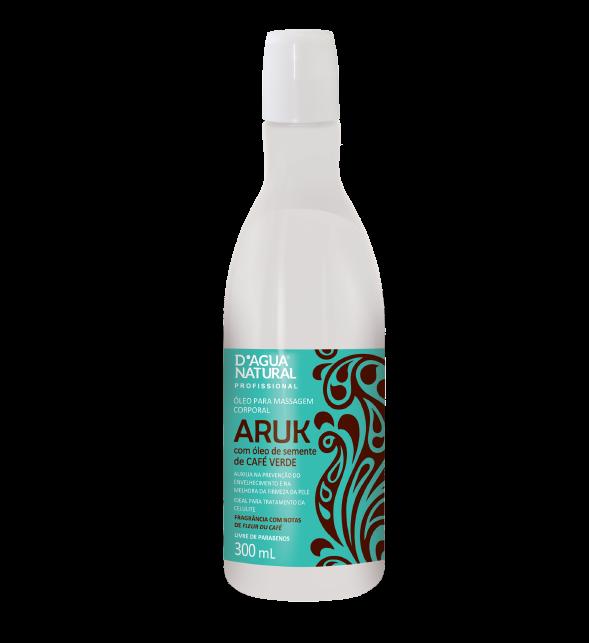 Óleo Massagem Aruk Café Verde 300ml Dagua Natural