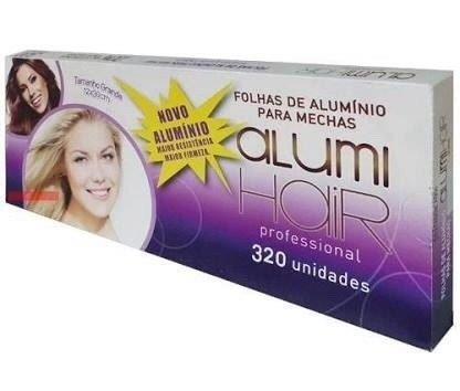 Papel Aluminio Para Mechas Alumi Hair - 320 Folhas - 12x30cm