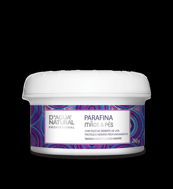 Parafina Mãos e Pés Semente de Uva 260g Dagua Natural
