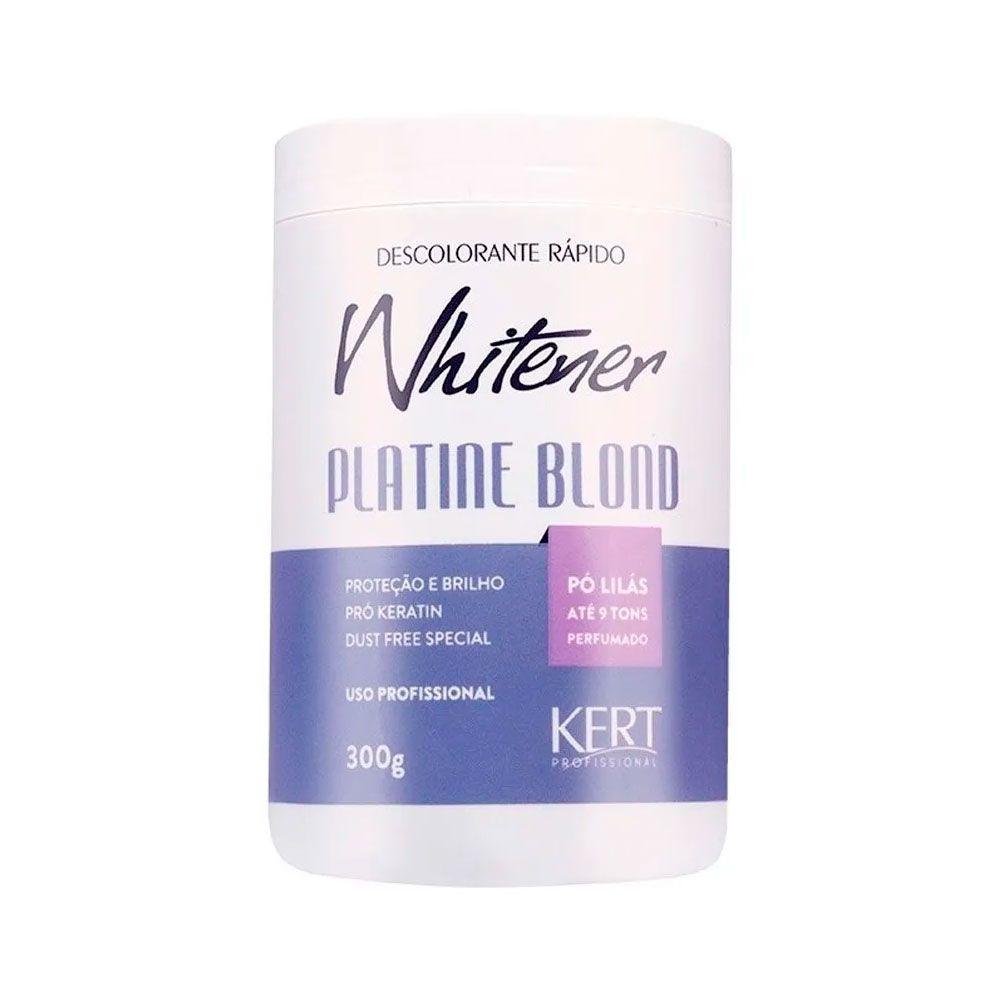 Pó Descolorante Whitener Platine Blond Kert 300g