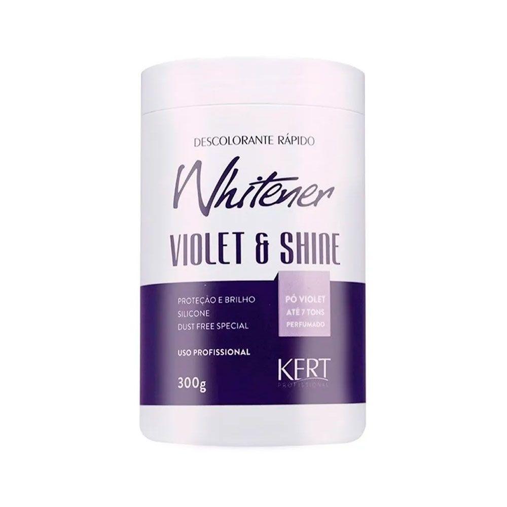 Pó Descolorante Whitener Violet Shine 300g Kert