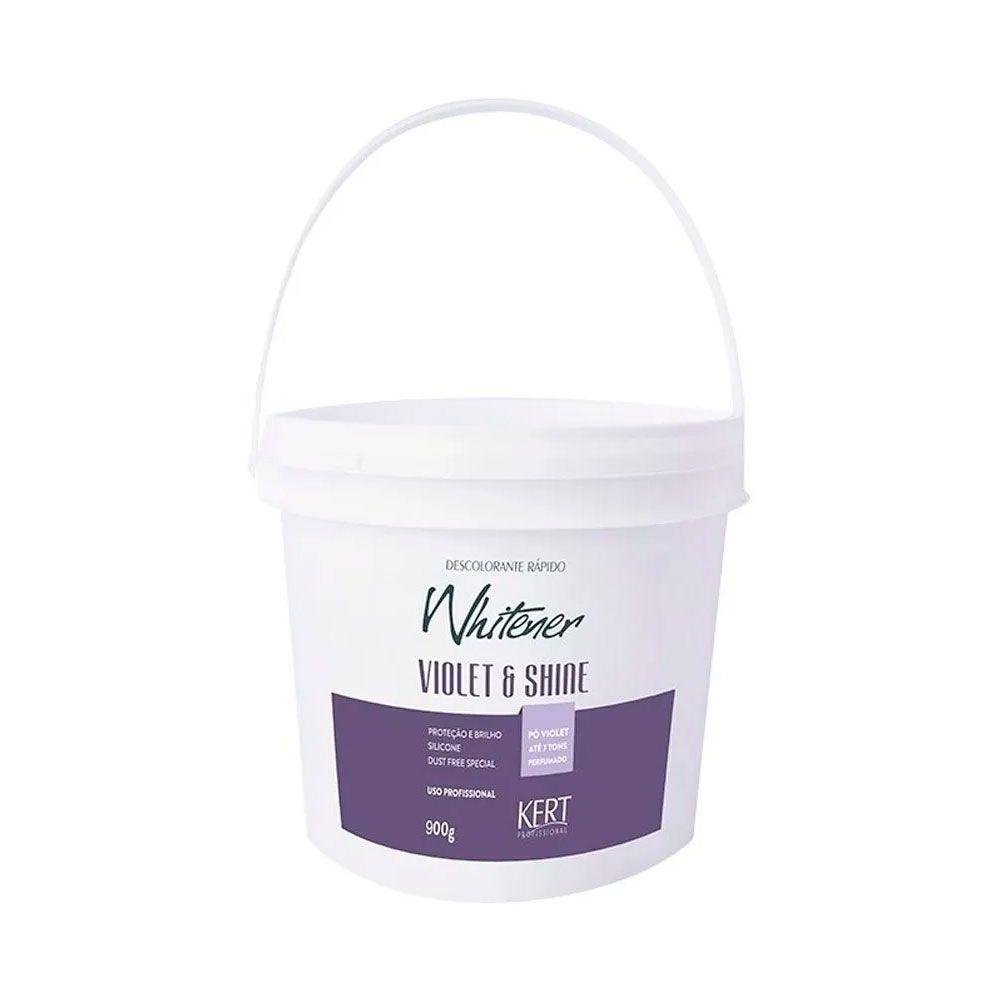 Pó Descolorante Whitener Violet Shine 900g Kert