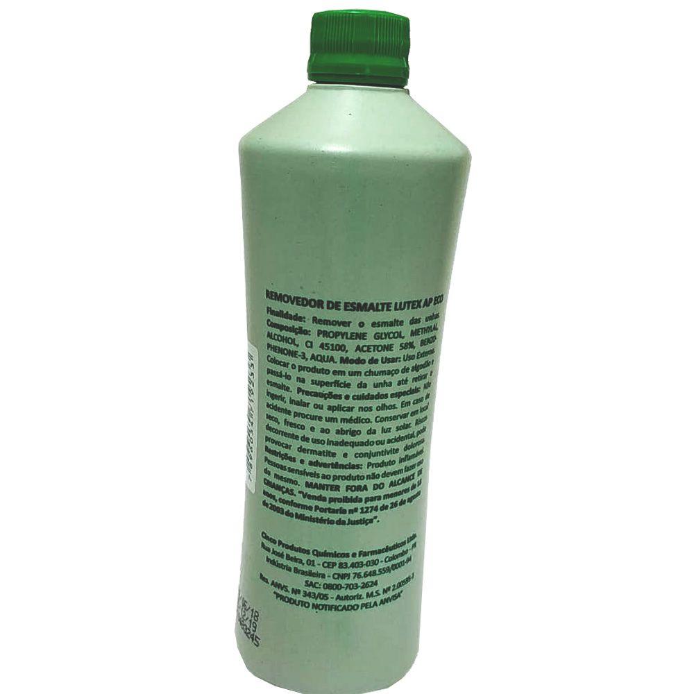 Removedor De Esmaltes 5cinco Lutex Acetona 500ml