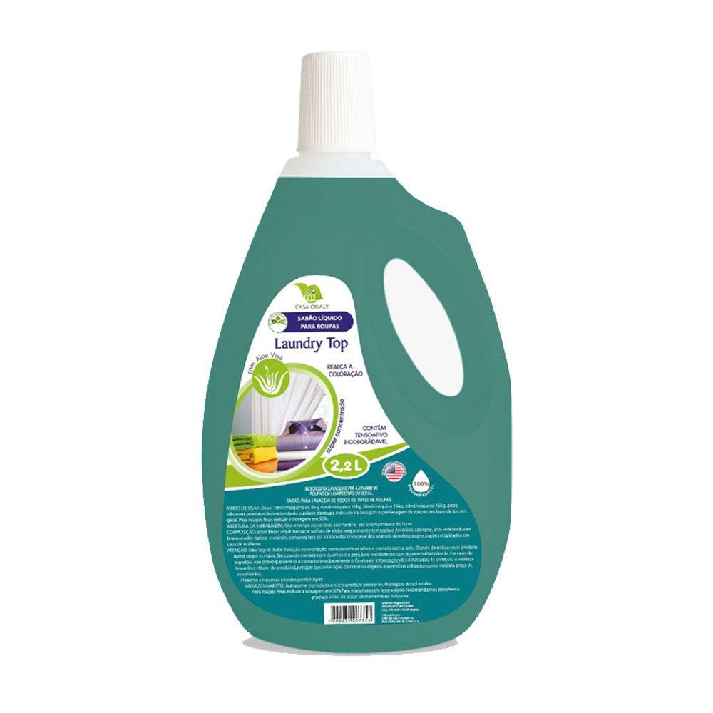 Sabão para Roupas - Laundry Top - 2.2 litros Casa Qualy