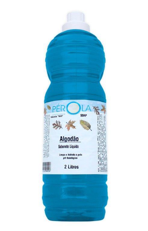 Sabonete Liquido Algodão Pérola 2L
