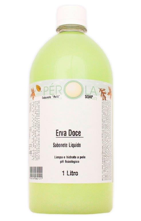 Sabonete Liquido Erva Doce Pérola 1L