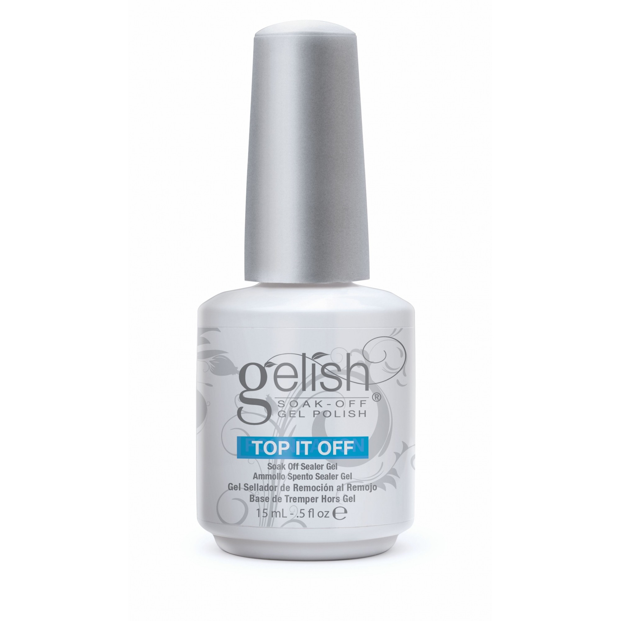 Selante Gelish Harmony Top It Off Brilho Intenso 15ml