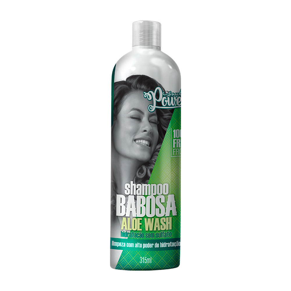 Shampoo Babosa Soul Power Aloe Wash 315ml