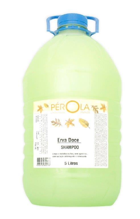 Shampoo Erva Doce Pérola 5L - Galão