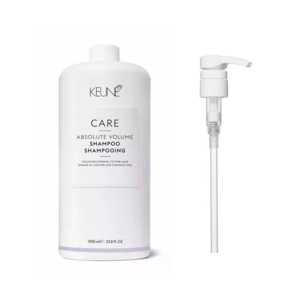 Shampoo Keune Absolute Volume 1000ml + Brinde Pump